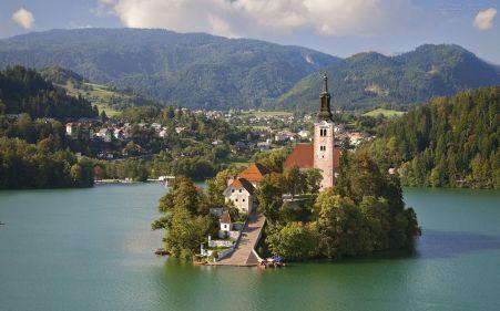 Igreja de Assunção de Maria - Lago Bled - Eslovénia