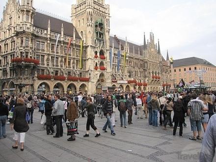 Marienplatz - Munique - Alemanha