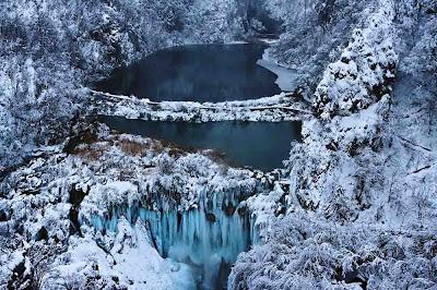 Plitvice Lakes no Inverno - Plitvička jezera