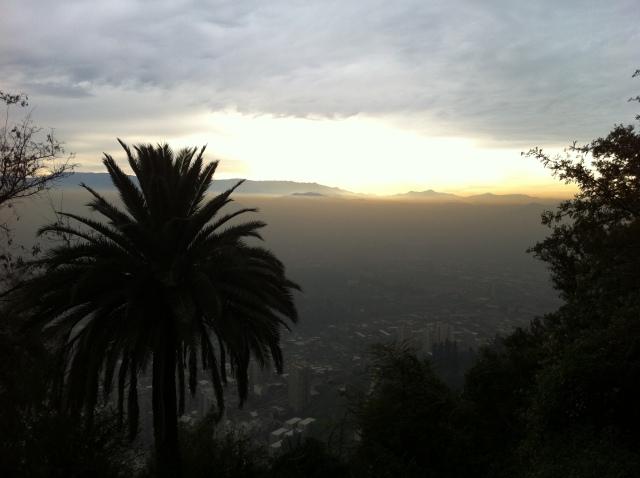 Vista do Alto do Cerro San Cristóbal