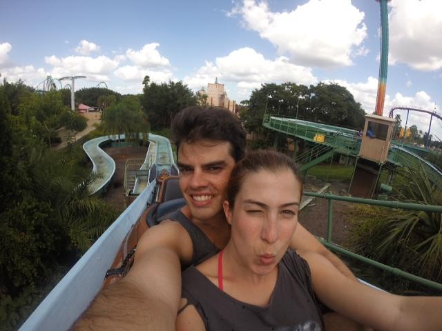 Busch Gardens - melhor parque EVER!